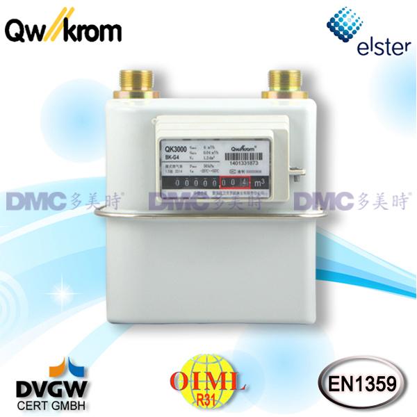 重庆前卫克罗姆Qw//krom QK3000燃气皮膜表 BK-G系列