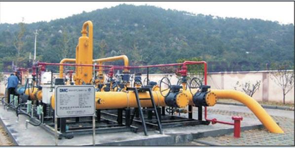 实现天然气城区覆盖所需的燃气设备
